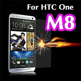 واقيات شاشة الهاتف - زجاج مقوى لهاتف HTC One M7 M8 M9 Mini 2 Plus M8mini M8S M7mini 601E 601 802W 801E واقي الشاشة (One2 M...