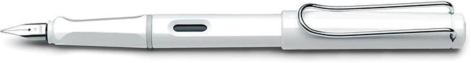 LAMY Safari Left-Hander Nib Fountain Pen - White
