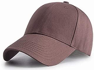 Black Gray Spring Summer Hats Baseball Cap Hip-hop Hat Cotton Adjustable Plain Blank Man Woman Cap (Color : 09)