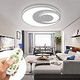 MIWOOHO LED Deckenleuchte 48W Dimmbar LED Deckenlampe Wohnzimmer Lampe Modern Deckenleuchten für Schlafzimmer Esszimmer Wohnzimmer mit 2.4G Fernbedienung [Energieklasse A++]