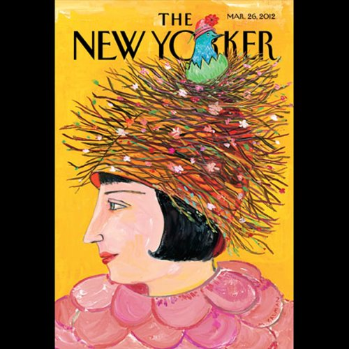 Couverture de The New Yorker, March 26th 2012 (John Colapinto, Ian Parker, James Surowiecki)