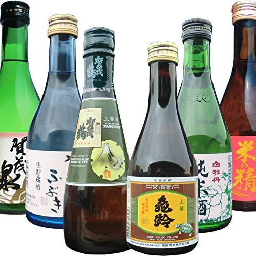 飲み比べセット 広島地酒小瓶 300ml×6本