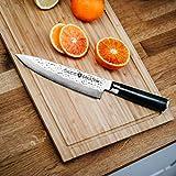 DALSTEIN® Damastmesser | Extrem scharfes, Japanisches Profi Küchenmesser für mehr Freude beim Kochen | Kochmesser Inklusive Zubehör und Garantie! - 3