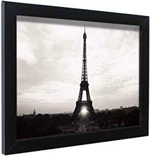 Leoyoubei Simple Poster Frame 13x18 Inch Frame A3 -Actual Fits 11.7x16.7 inch Photo,Print,Poster,Portrait or Artwork Frame 0.75 Inch Wide,Hanging Picture Frame (Black)