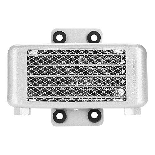 Dibiao Enfriador de Aceite de Motor de Motocicleta de Aluminio de 65 Ml Radiador de Enfriador de Aceite de Enfriamiento Rápido Modificación Duradera para 100Cc-250Cc Dirt Bike Atv
