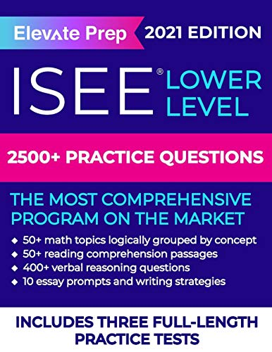 ISEE Lower Level: 2500+ Practice Questions