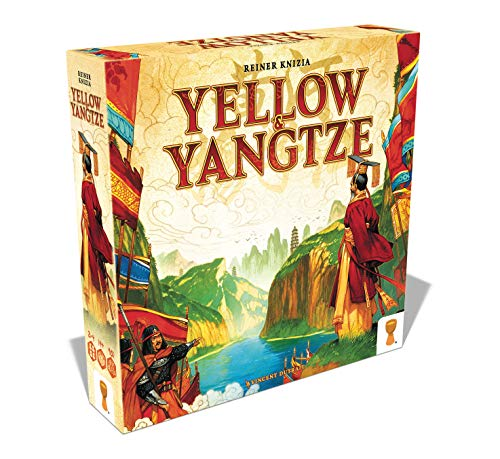 Grail Games GRL3222 Amarillo & Yangtze, Multicolor
