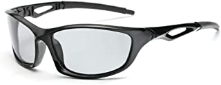 Photochromic Sunglasses Men Women HD Polarized Sports Cycling Glasses By Long Keeper