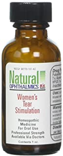 Natural Ophthalmics Women's Tear Stimulation Pellets, 1 Ounce