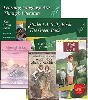 Learning Language Arts Through Literature Green (Grade 7) Complete Set Homeschool Kit in a Bag