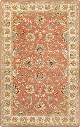 Cherryfield Traditional Outlet SALE Vintage Persian Rug Round Finally popular brand 4' Area