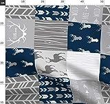 Hirsch, Quilt, Patchwork, Wholecloth, Geweih Stoffe -