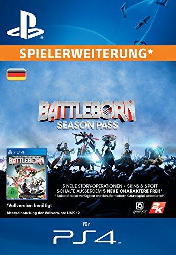 Battleborn Season Pass [Spielerweiterung] [PSN Code für deutsches Konto]