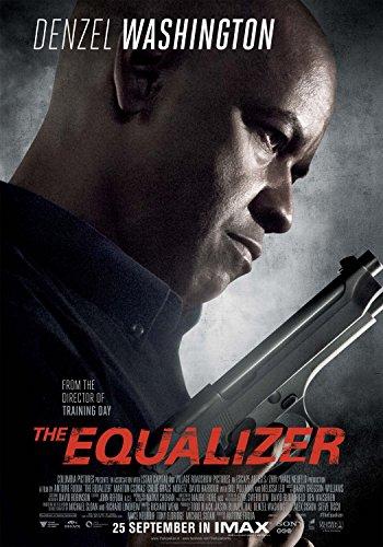 THE EQUALIZER Original Movie Poster 27x40 - DS - VERSION D - DENZEL WASHINGTON - CHLOE GRACE MORETZ
