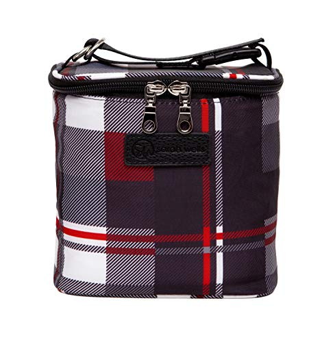 Read About Sarah Wells Cold Gold Breastmilk Cooler with Ice Pack (Tartan)