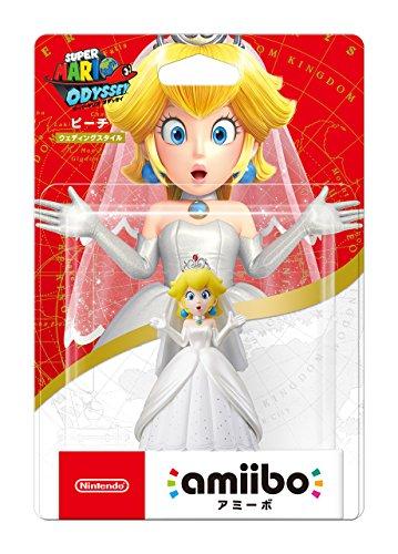 Amiibo Peach Wedding ver. Japanese Import Mario bros