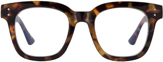 Madison Avenue Women Blue Light Glasses,Oversize Blue Light Glasses for Women, Anti Eyestrain & UV Protection Computer Eye...