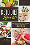 KETO DIET AFTER 50: THE COMPLETE KETO DIET COOKBOOK FOR MEN AND WOMEN OVER 50. LEARN HOW TO LOSE WEIGHT AND BURN FAT EASILY WITH A 30-DAY MEAL PLAN. QUICK RECIPES FOR YOUR PREPARATIONS