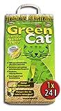 2x12 l = 24 Liter GREENCAT CORNCAT NATURSTREU ÖKO-PLUS GREEN CAT`S KATZENSTREU - BEST STREU GREEN CAT - kostenloser Versand innerhalb Deutschlands (außer Inseln)