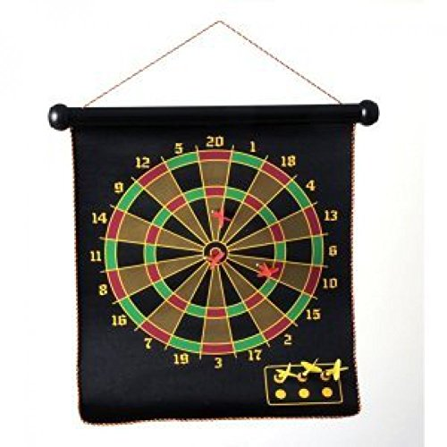 House of Marbles Magnetic Darts and Roll-Up Dart Board