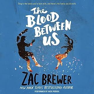The Blood Between Us audiobook cover art