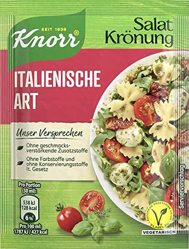 Knorr Salatkrönung Italienische Art Dressing, 15er Pack (15 x 52 ml)