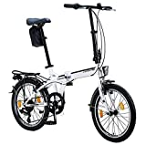 Licorne Bike Premium Falt Bike in 20 Zoll - Fahrrad...
