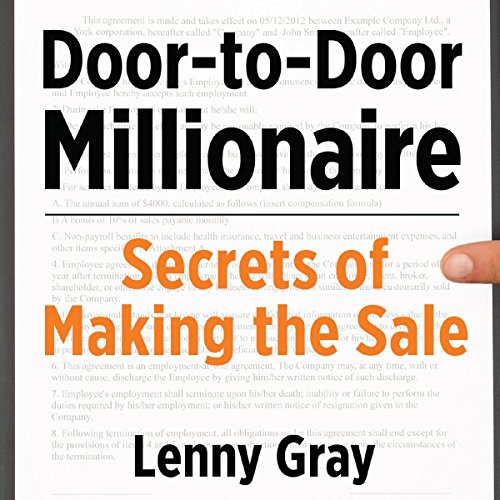 Door-to-Door Millionaire audiobook cover art