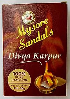 mysore sandal divya karpur 20gm pack of 6 (pack of 6)