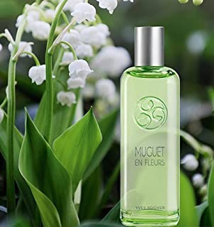 Yves Rocher Muguet en Fleurs Lily of the Valley Eau de Toilette, 100 ml. THIS EDITION IS NOT AVAILABLE IN USA. Imported from France.