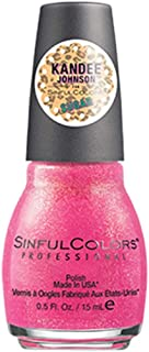 Sinful Colors Professional Nail Polish Kandee Johnson Sugar Collection #2266 Pink Velvet