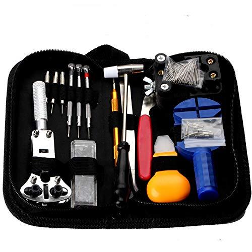 Kijk Repair Tool, Horloge Repair Kit, 147-Delige Gereedschapsset, Verwijderen Strap, Open Horloge Reparatie Set, Watch, Vervang Batterij,A