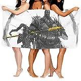 Anganganiel Toallas de baño Ornstein and Smough Dark Souls Toallas Suaves súper absorbentes Toallas de Secado rápido Moda Deportes Viajes Playa Toalla de Piscina 80cm × 130cm