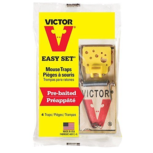 Victor Easy Set Mouse Traps (Pack of 12)