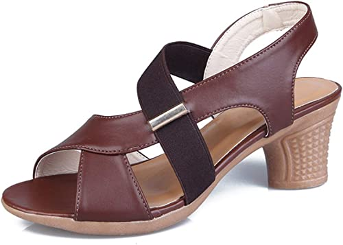 Sandales Femmes Sandales légères épaisses épaisses et antidérapantes-marron-37  vente de renommée mondiale en ligne