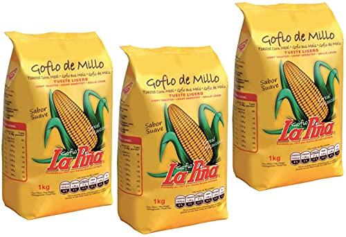 Gofio de Maiz Bio   Millo   Ecológico   Caja
