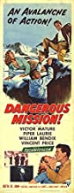 Dangerous Mission - Authentic Original 14