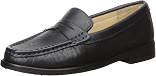 Driver Club USA Kids' Leather Boys/Girls Casual Comfort Slip on Moccasin Penny Loafer Driving Style