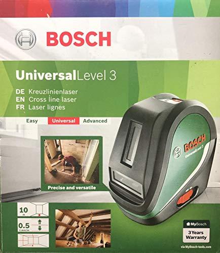 Bosch Nivel láser en cruz UniversalLevel 3 (3 pilas AA, bol