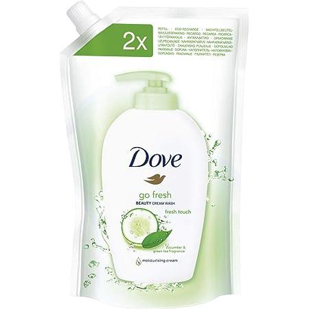 Dove Loción de lavado Go Fresh Fresh Touch recambios, 1er Pack (1x 500g)