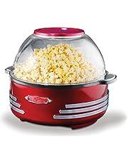 Simeo FC150 popcorn-maskin röd/krom