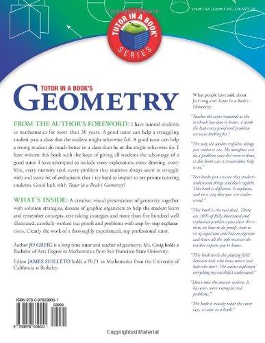 Tutor in a Book's Geometry