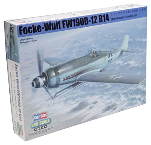Maquette Focke Wulf FW 190D-12 R14