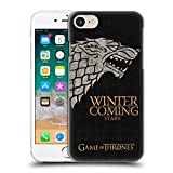 Official HBO Game of Thrones Stark House Mottos Hard Back Case Compatible for Apple iPhone 7 / iPhone 8 / iPhone SE 2020