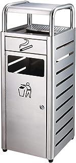 Bacs à Ordures Extérieurs Poubelles de Recyclage, Poubelle extérieure en Acier Inoxydable for poubelles, avec poubelles de...
