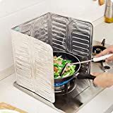 HHOME Oil Aluminium Plate Foil Insulate Splash Proof Baffle Plate Gas Stove Splatter Screens Cooking Kitchen Suppliers Tools Accessory