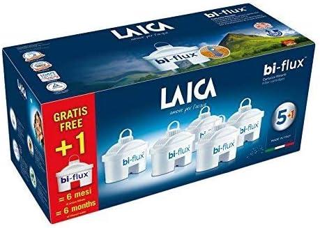 LAICA Cartouche filtrante 6 filtri Blanc