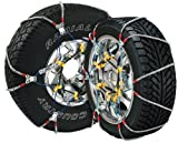 Security Chain Company SZ115 Super Z6 Cable Tire Chain for Passenger Cars, Pickups, and SUVs - Set of 2