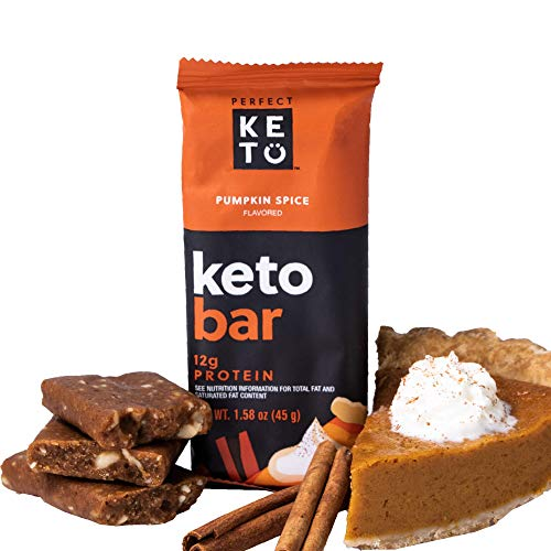LIMITED EDITION! Perfect Keto Bars | Cleanest Keto Snacks with Collagen and MCT. No Added Sugar,...