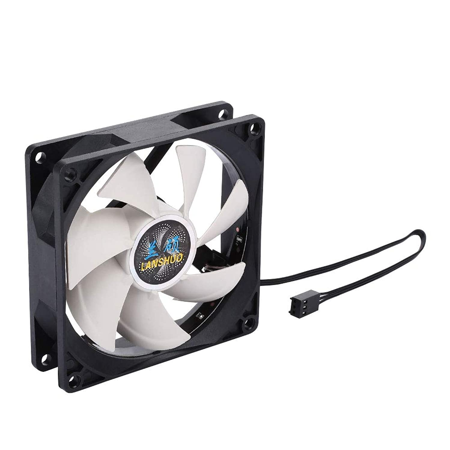 NYWENY 90 mm CPU Fan Colorful CPU Cooler Master Premium CPU Case Fan Heatsink CPU Cooler Fan Game Player Heat Radiation Axial Fan Coloured
